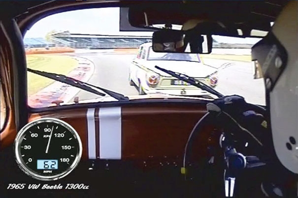 Onboard Footage from Ian's Beetle